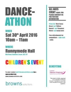 ADVERTISING FLYER - CHILDREN'S EVENT1
